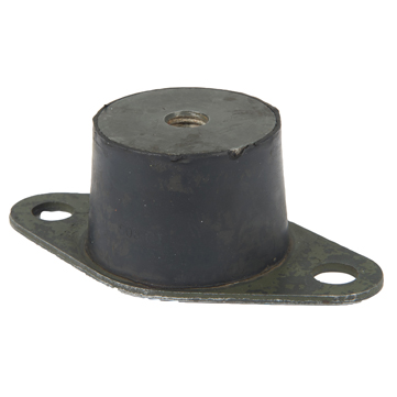 Flange mount anti-vibration pads