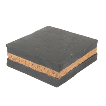 Square Anti Vibration Pads with Cork center