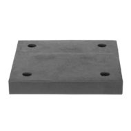 Square anti-vibration mounting pad 8 inch